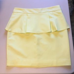 NWT Forever 21 peplum pencil skirt size small.